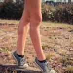 Toe walking stretch