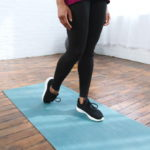 Toe drag stretch to prevent shin splints
