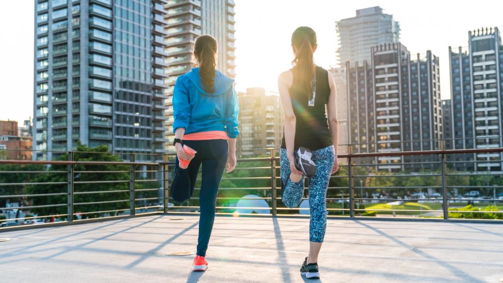 Trendy Oalka yoga and running leggings
