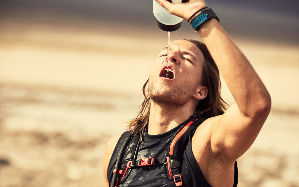 Headache after running is in most cases caused by dehydration